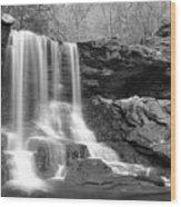 B Reynolds Falls Wood Print