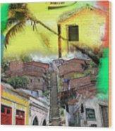 Recife Colors Wood Print