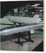 B61 Nuclear Bomb Usaf Wood Print