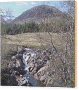 Ba Bridge, West Highlands, Scotland Wood Print