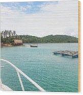 Ba Lua Archipelago Wood Print
