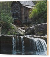 Babcock Grist Mill Wood Print