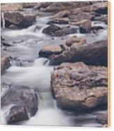Babcock Stream Wood Print