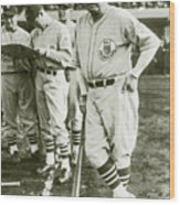 Babe Ruth All Stars Wood Print
