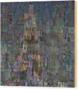 Babel Wood Print