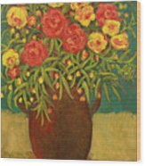 Babette's Bouquet Wood Print