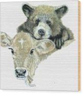 Babies Wood Print