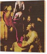 Babs In Babylon Wood Print