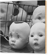 Baby Heads, No.1  Wood Print