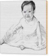 Baby Jane Wood Print