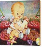 Baby Magic Wood Print