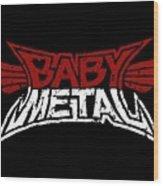 Babymetal Wood Print