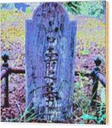 Baby's Grave Wood Print