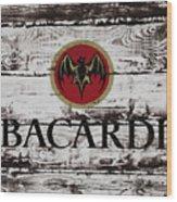 Bacardi Wood Art Wood Print