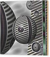 Bocce Balls Wood Print