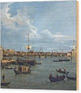 Bacino Di San Marco From Canale Della Giudecca Wood Print