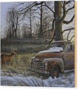 Back Forty Wood Print