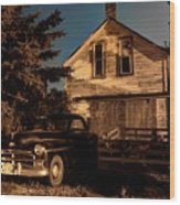 Back Home Wood Print