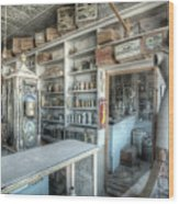 Back In 5 - The General Store, Bodie Ghost Town Wood Print