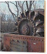 Back In My Days - California U S 395 Wood Print by Glenn McCarthy Art and Photography