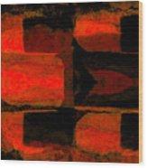 Colour Choice Stone Abstract Wood Print