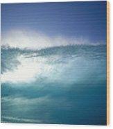 Backlit Wave Wood Print
