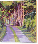 Backroad Canopy Wood Print