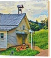 Backroads Wood Print