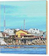 Fishermans Wharf 2 Wood Print