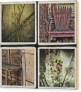 Backward Glance Wood Print