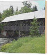 Bacon Bridge In Pittsburgh Nh Wood Print