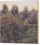 bacon garden landscape c1894 Henry Bacon Wood Print