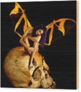 Bad Fairy Wood Print