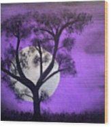 Bad Moon Wood Print