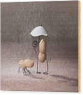 Bad Weather 02 Wood Print