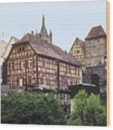 Bad Wimpfen 4 Wood Print