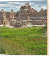 Badlands 11 Wood Print