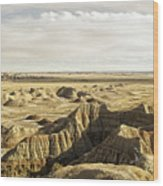 Badlands 2 Wood Print