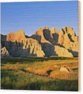 Badlands Buttes, South Dakota Wood Print