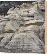 Badlands Drumheller Alberta Canada 2 Wood Print