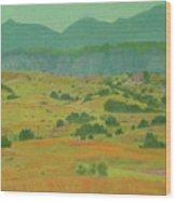 Badlands Grandeur Wood Print