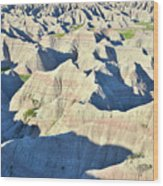 Badlands National Park Wood Print