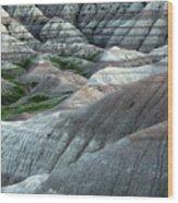 Badlands National Park South Dakota 2 Wood Print