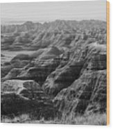 Badlands Of South Dakota #2 Wood Print