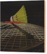 Badminton Wood Print