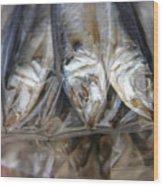 Bag O' Fish 2 Wood Print