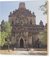 Bagan Sulamani Temple Wood Print