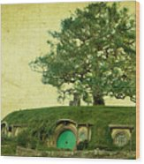 Bagend Homes Wood Print by Linde Townsend