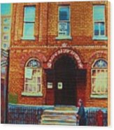 Bagg Street Synagogue Wood Print