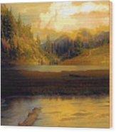 Bagley Lake Wood Print